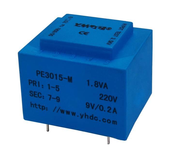 1.8VA PCB welding encapsulated isolation transformer