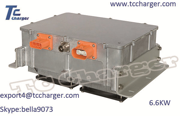 6.6kw on board High Voltage Battery Charger E-Bus