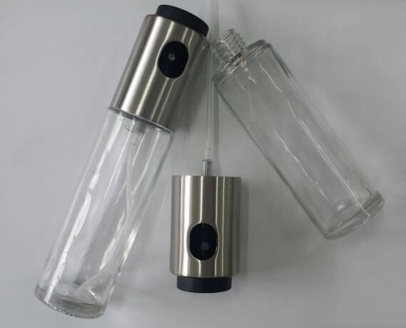 oil and vinegar sprayer bottle set
