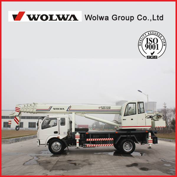 Direct manufacturers 10 ton hydraulic truck crane 360 degrees GNQY-C10