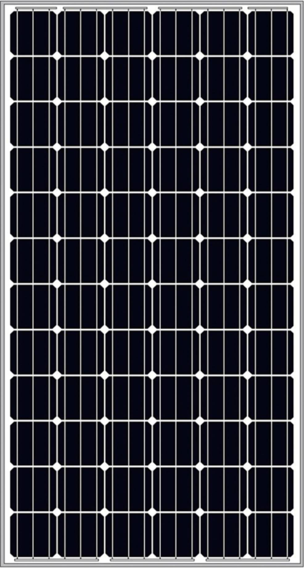 PV Panel with 72 Cells (Mono High efficient type)