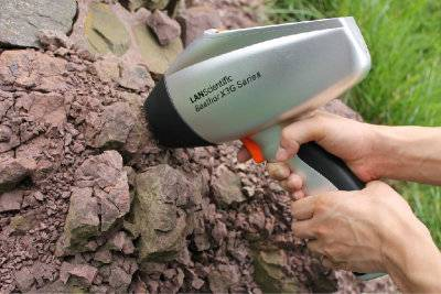 Supply Lanscientific fast detection handheld XRF spectrometer for mineral elements