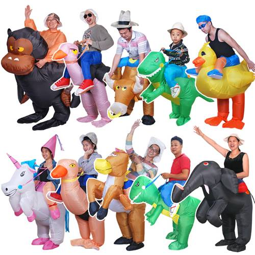 Inflatable Walking Dinosaur Costume