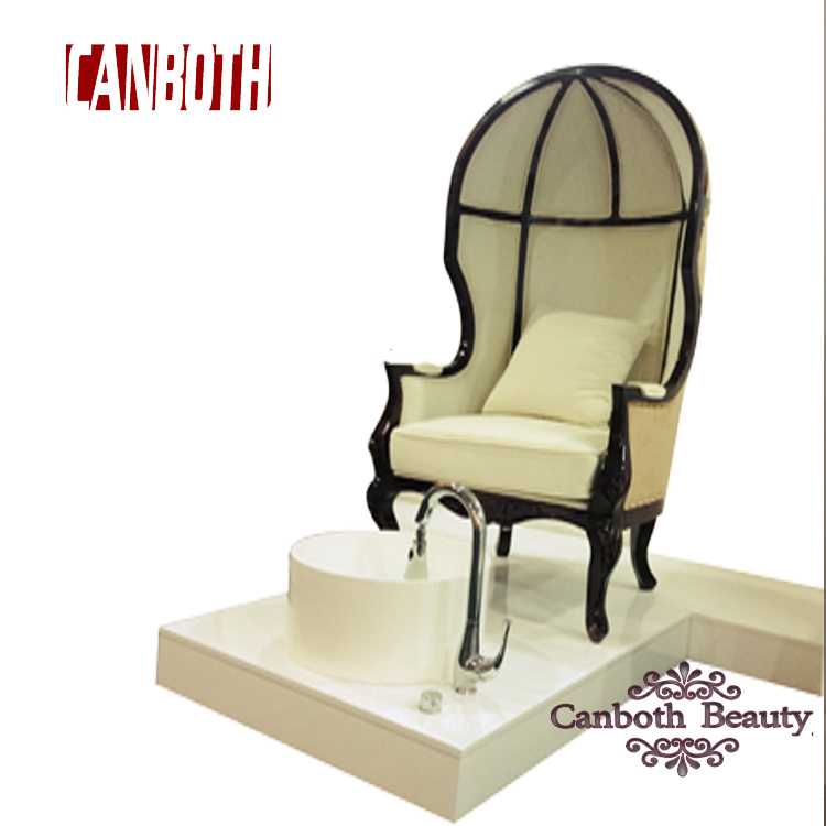 hot sale egg shaped pedicure chair with pedicure sink and jet CB-FP004