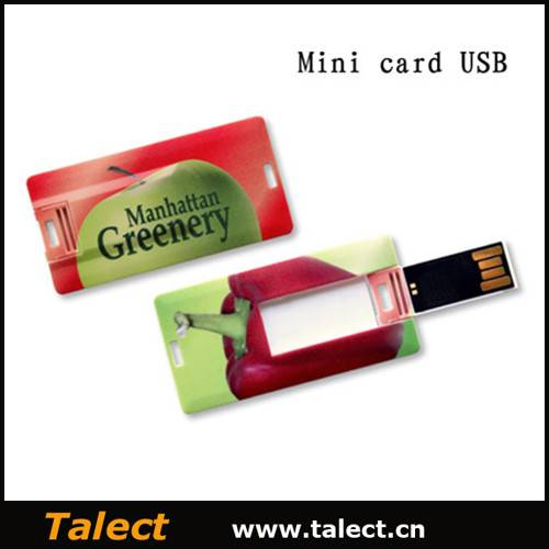 Low Price Hot Selling Credit Card USB Flash Drive, Usb Stick for Promotional Gifts