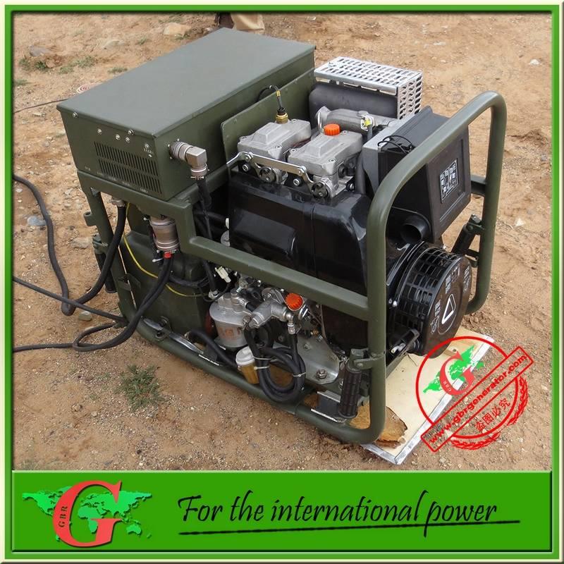 6Kw permanent magnet inverter diesel generator with pure sine wave Ac power