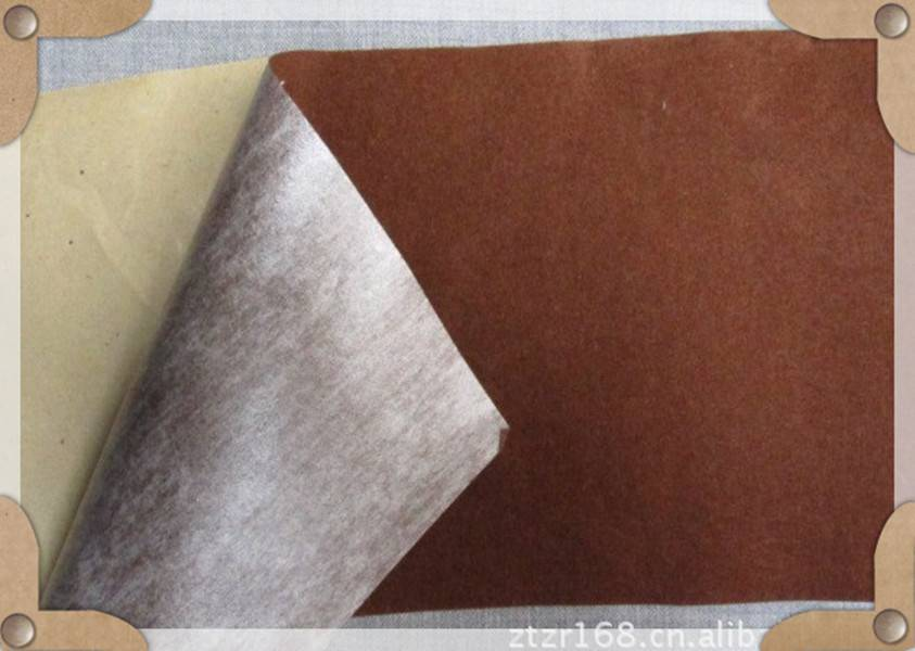 Self-adhesive flock fabric