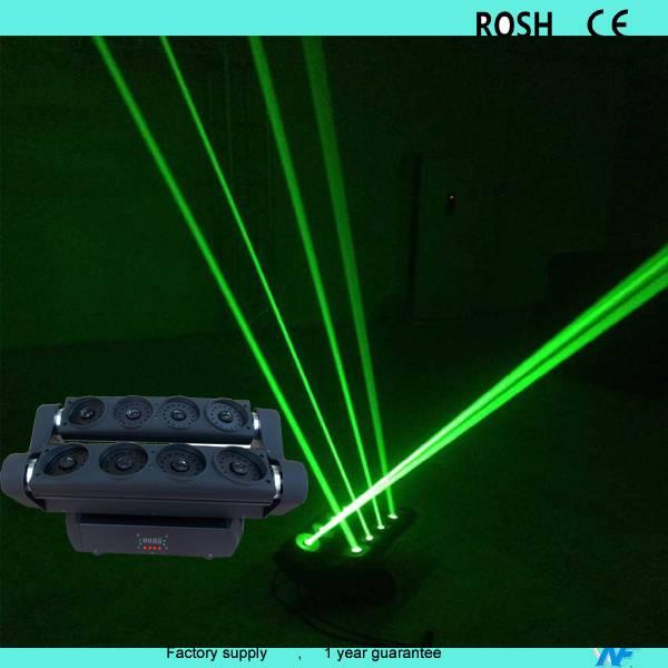 Green laser spider moving head light