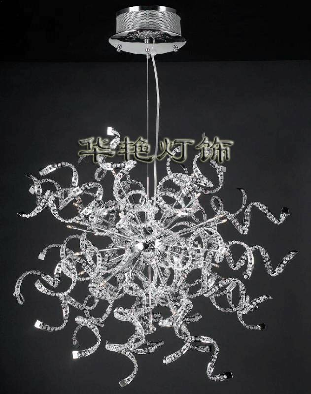 ceiling crystal light