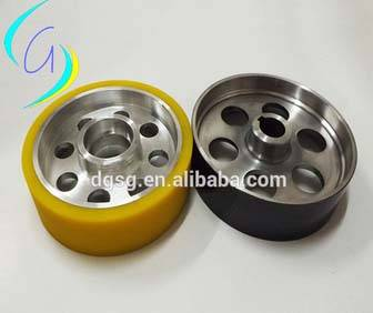 ceramic coated Meter -counting pulley,Pu pulley,pulley for extrusion pulley