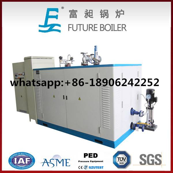 High Efficiency Horizontal Electric Steam Boiler for Hotel