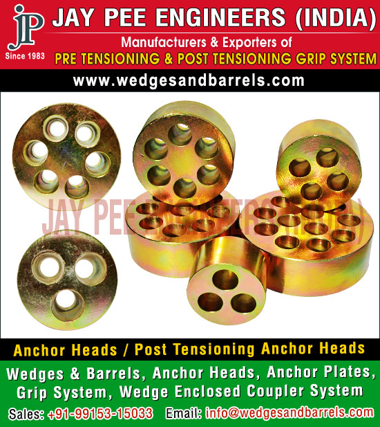 Anchor Heads Manufacturers Suppliers Exporters in India