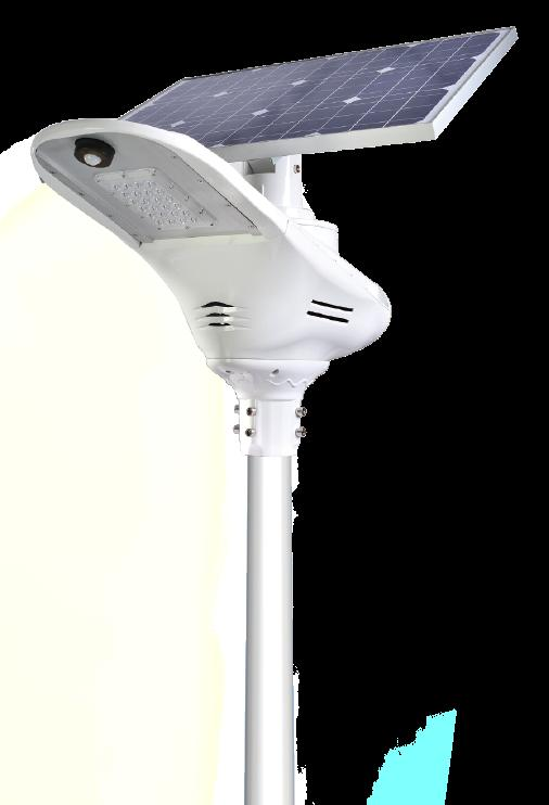 5M-20W Single Arm Solar Street Lights