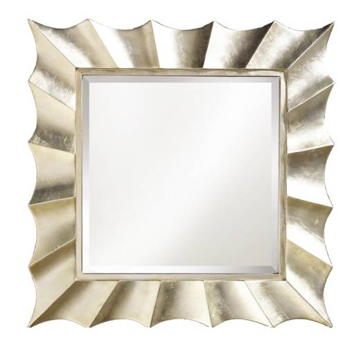 Wood carved Hotel wall mirror for art mind