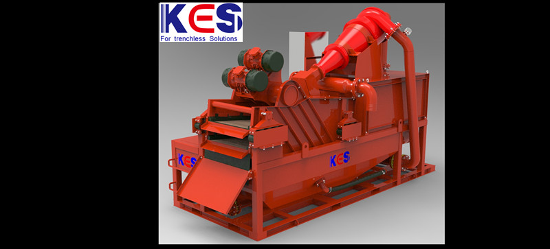 KES oil gas drilling waste treatment