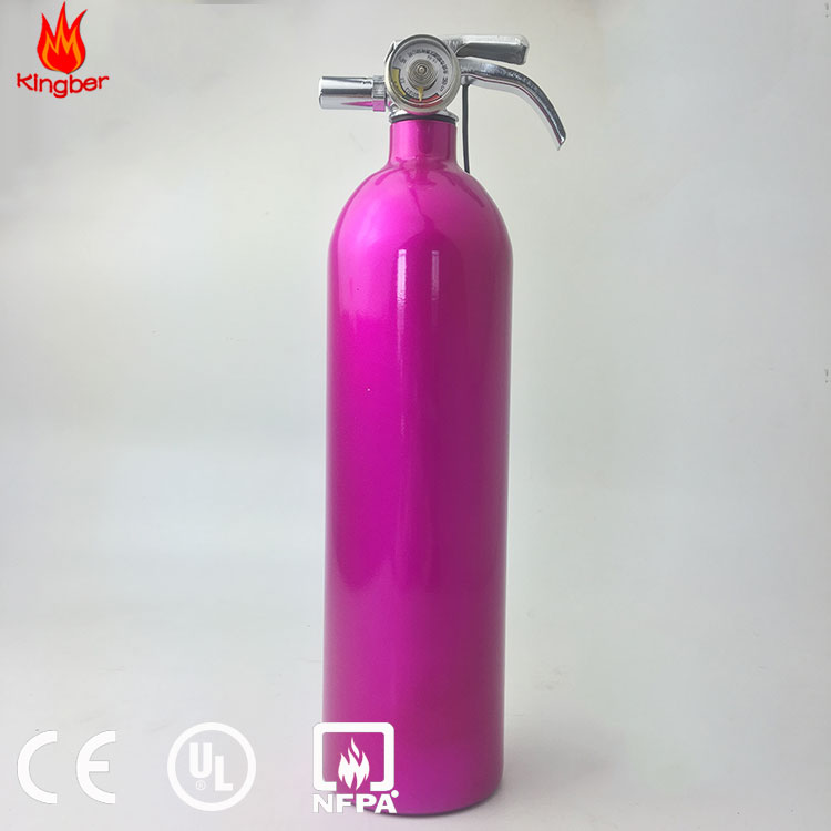 1kg Portable Dry Powder Foam Aluminum Alloy Fire Extintores For Hotel Using With ISO Standard