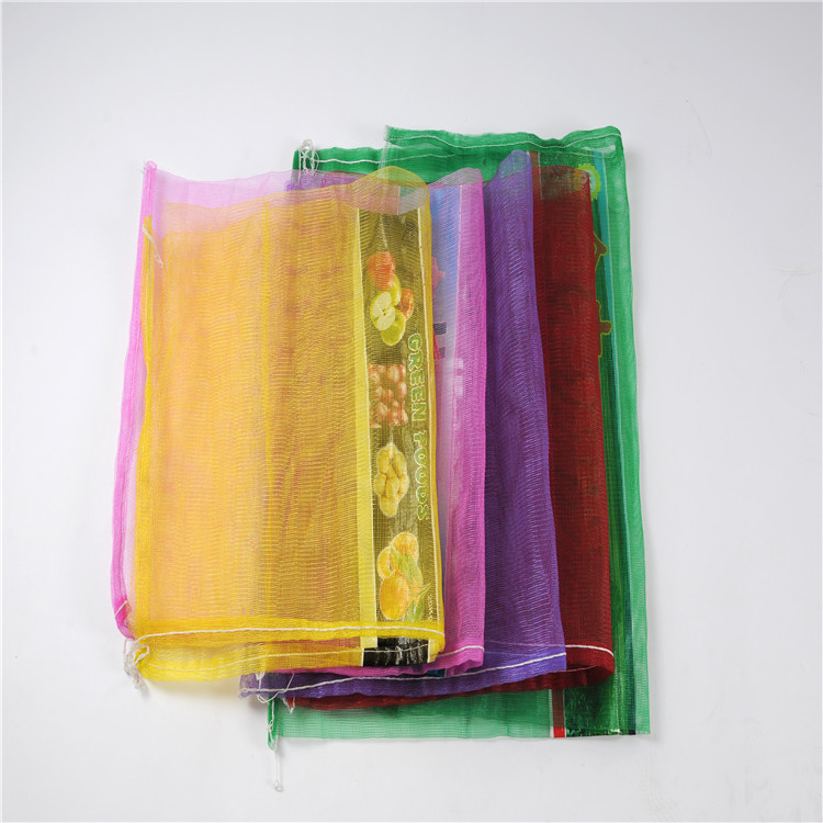 PP PE Vegetables mesh net bags on tubular