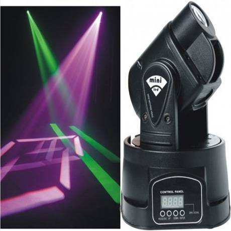 LED mini moving head spot light