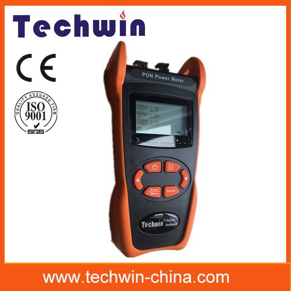 Techwin Pon optic power meter for the construction and maintenance of the PON project TW3212E