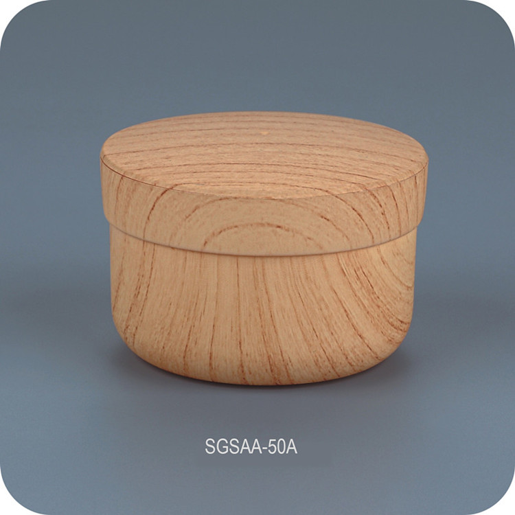 Water Transfer Wood Grain Cosmetic Cream Jar