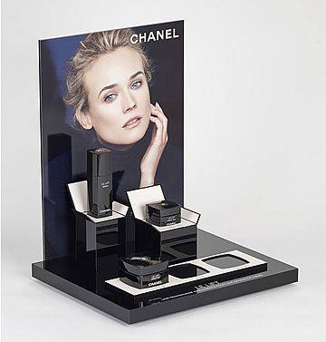 custom acrylic cosmetic display stand manufacture