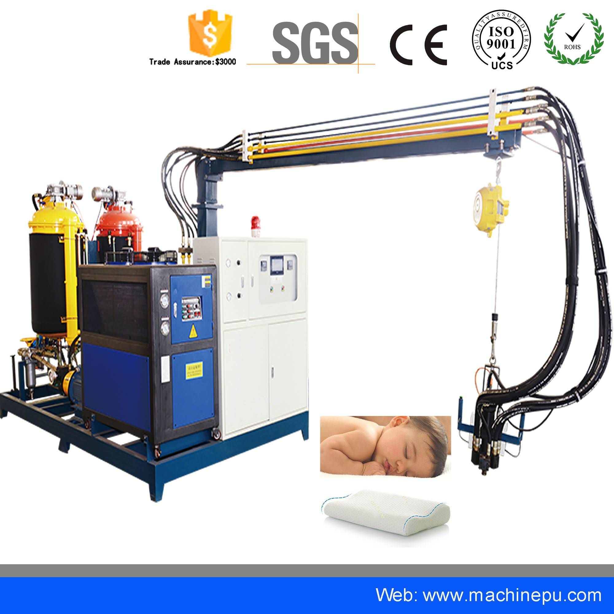 High Pressure pu Polyurethane Pipe insulation Moulding Foam Machine