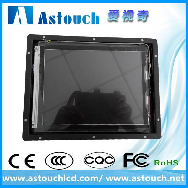 8.4 inch open frame monitor with resistive touch screen