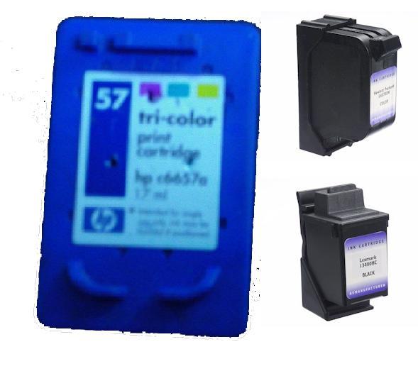 HP & Lexmark inkjet cartridge