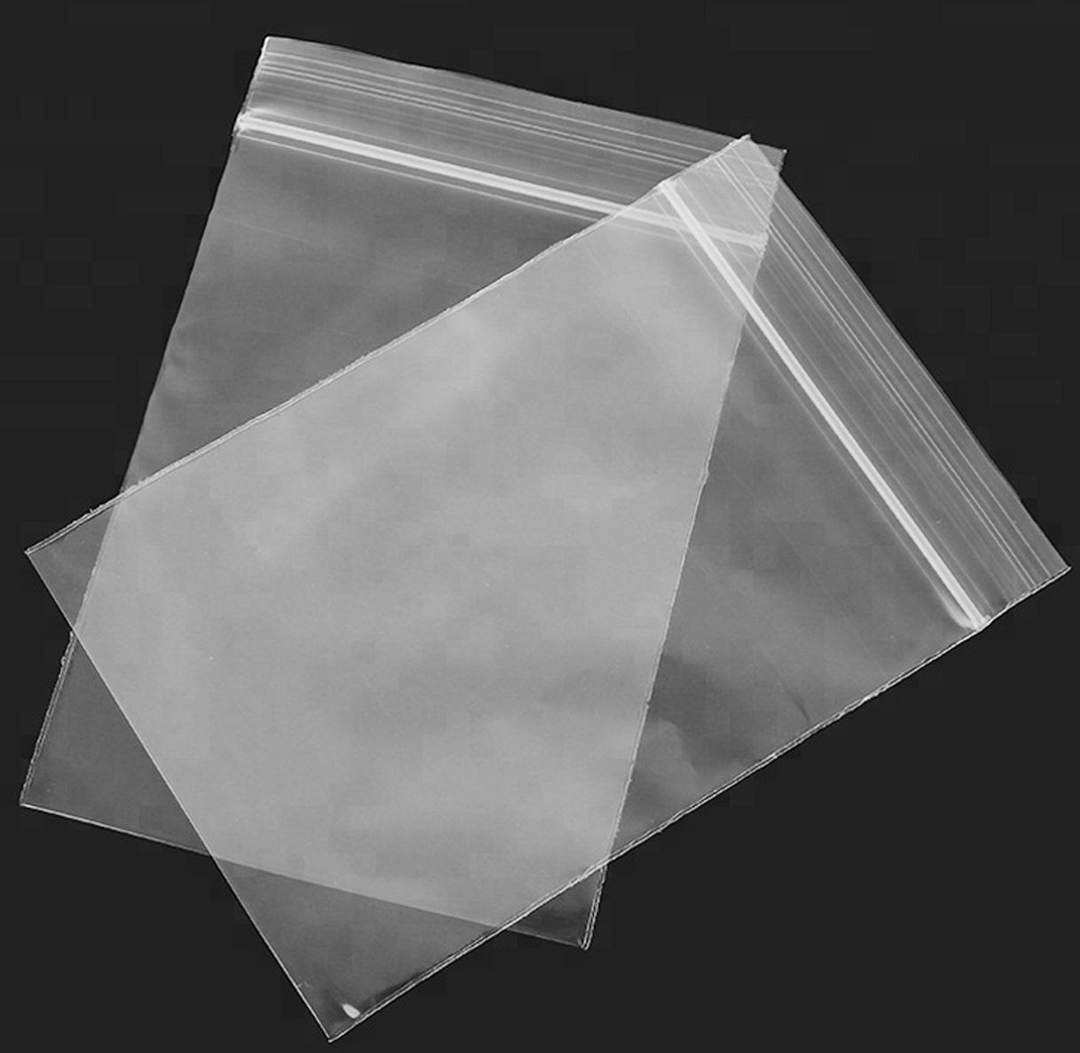 Transparent PE Zip Lock Bags / Reclosable Bag/ Medicine Bag