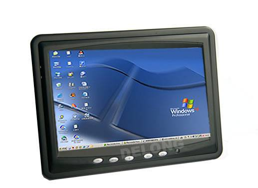 CarPc moniter:7inch Headrest/Stand Car tft-lcd monitor with touch panel and vga