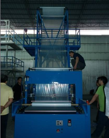 ABA garbage bag film blowing machine