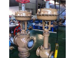 Cage-guided globe control valve