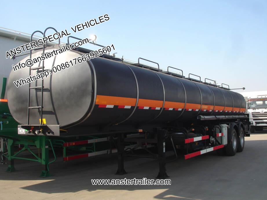 40,50,60 m³/cbm petrol, diesel tank trailer for sale