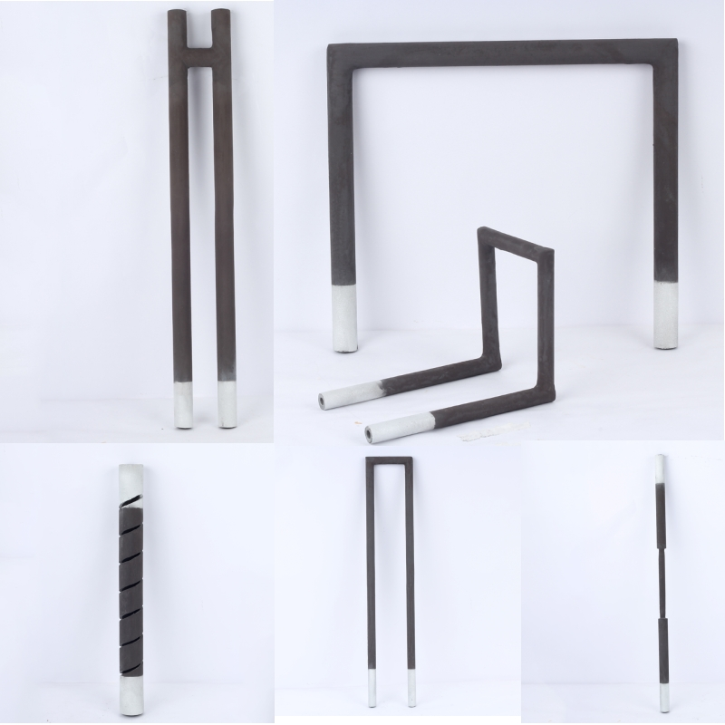 High quality 1400C SiC heating elements/SiC heating Rods for high temperature furnace