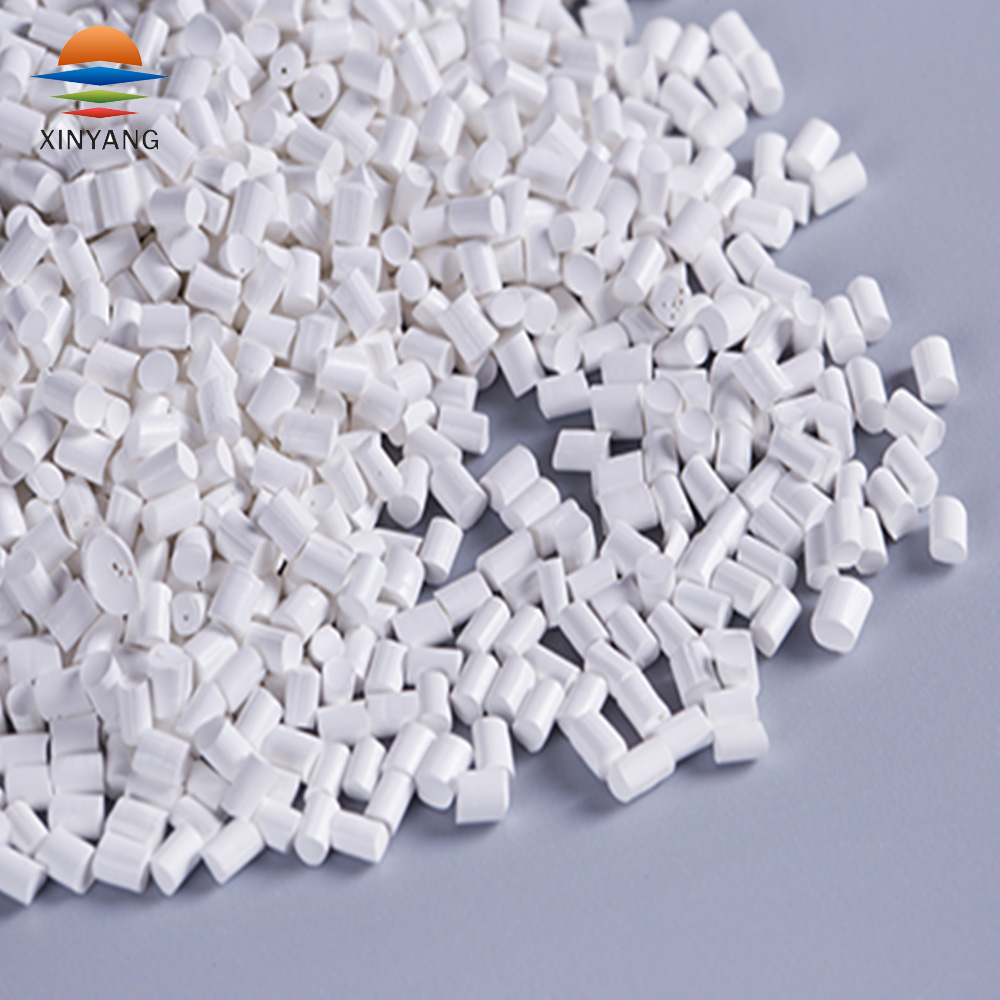 High concentration non-pollution plastic pe pp abs white color masterbatch for PVC pipe