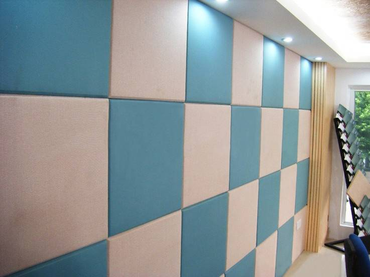 Fabric art acoustic panel Fabric Wrapped Acoustic Panels Wall Panels Decorative Acoustic Panels