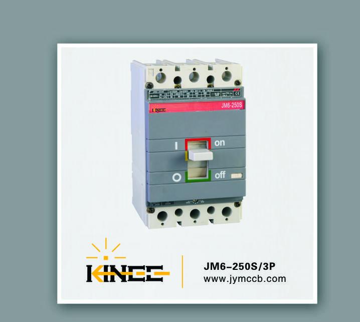 3P Moulded Case Circuit Breaker JM6-250S