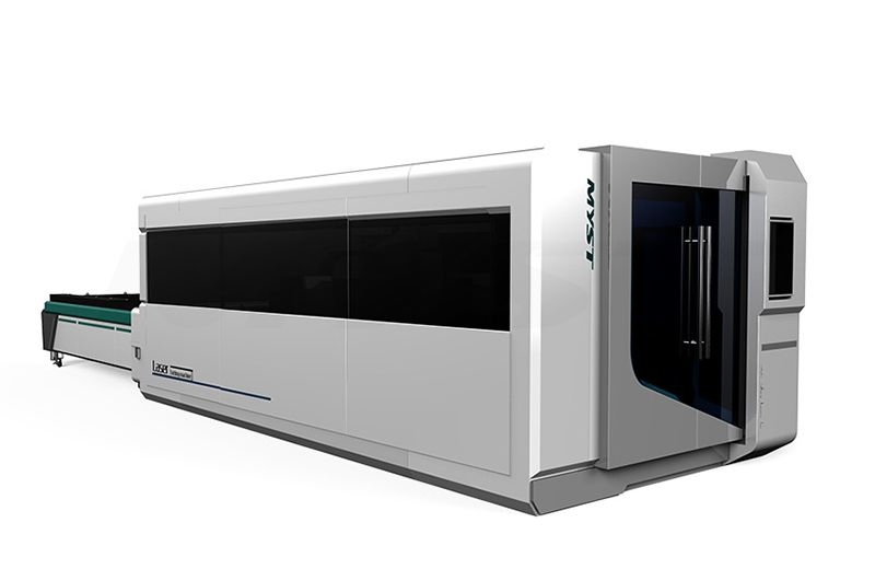 Full Cover Fiber Laser Metal Cutting Machine With Exchange TableMTF3015G