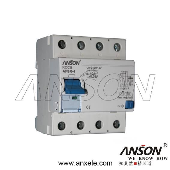 AFSR-100 Residual Current Circuit Breaker(RCCB)