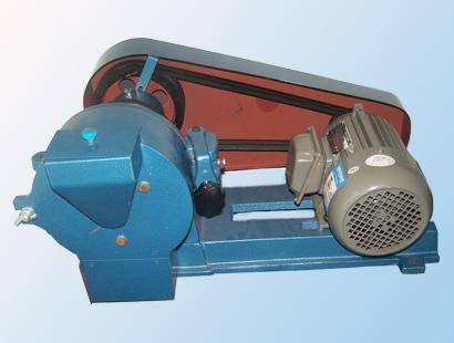 Laboratory disc shredder for miterial grinding