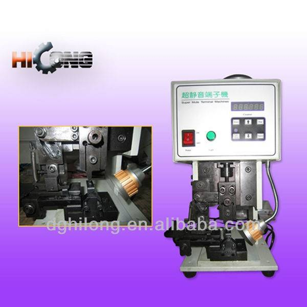 High speed terminal crimping machine HL-1000A built-in frequency converter