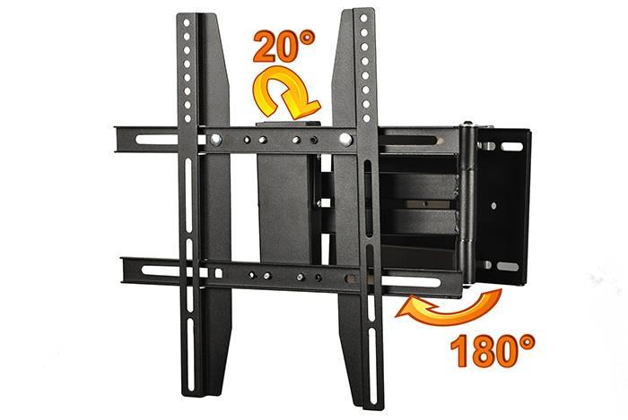 "X0420B 22""-50""  tv wall mount brackets"
