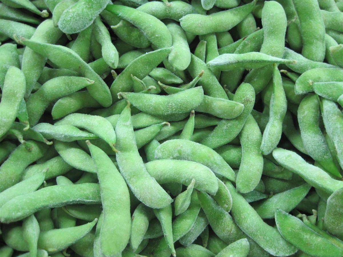 2015 new crop frozen soy bean, good quality edamame in shell