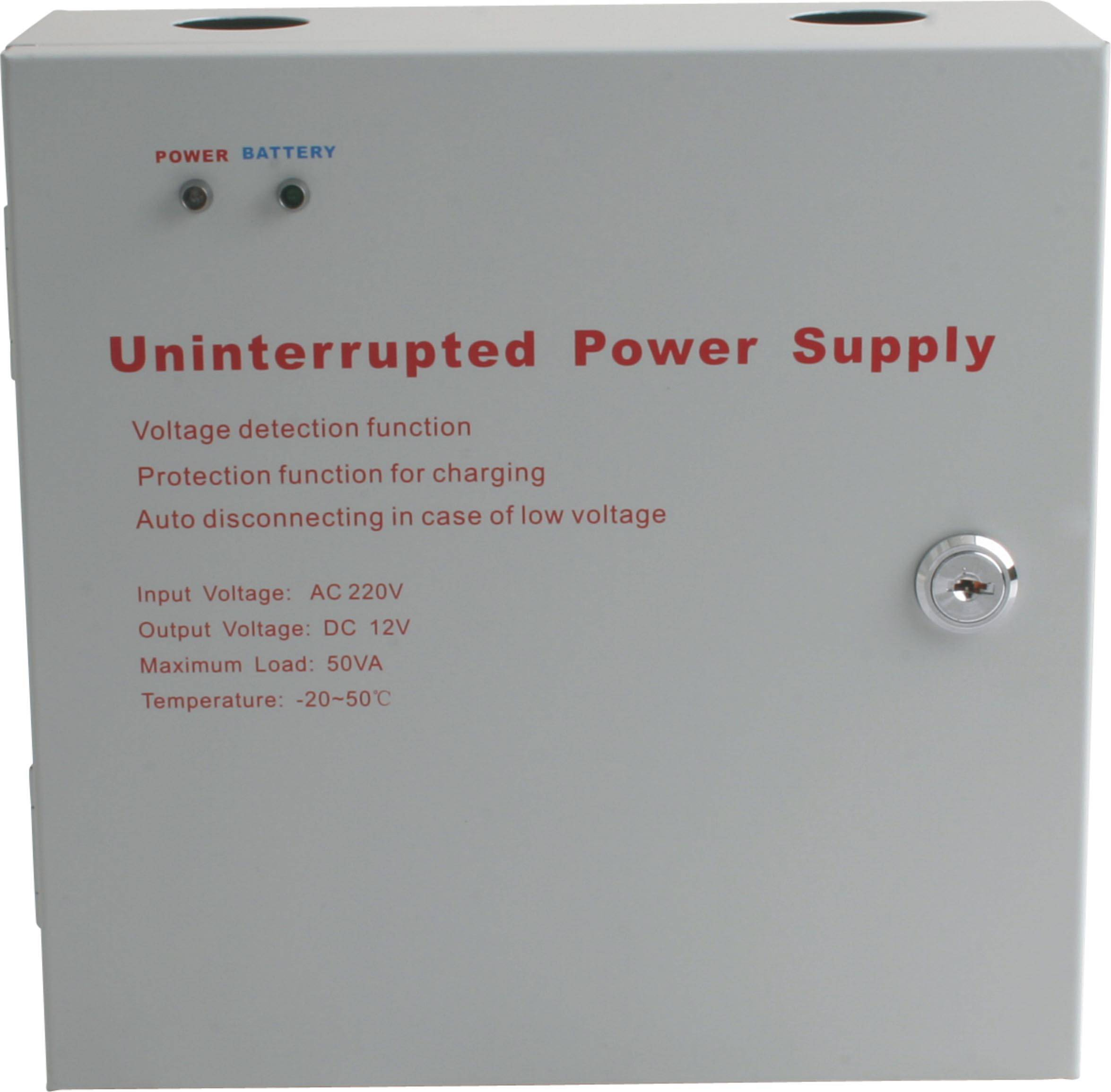 Uninterrupted Power Supply (12V,3A) of access control