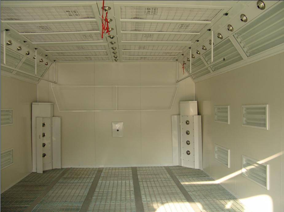 spray booth WTB-9600
