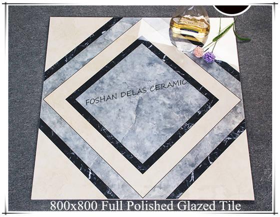 8C031 Glazed Vitrified Porcelain Carpet Floor Tile 800x800