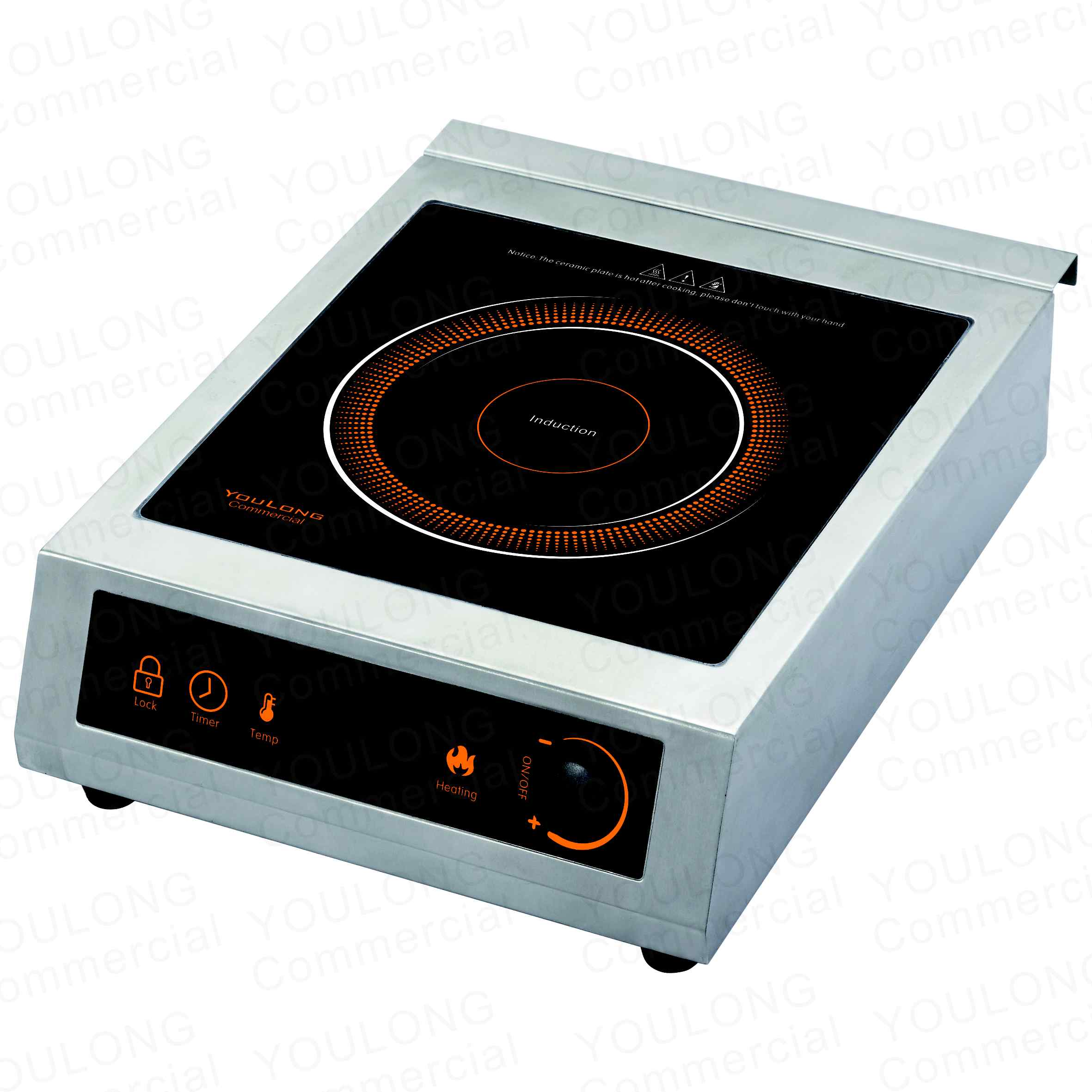 induction cooker C3511-BK Press and Knob Control