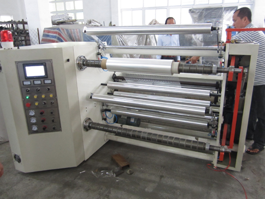 High-Speed Horizontal Slitter and Rewinder