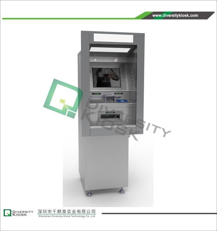 Through-the-wall ATM Kiosk