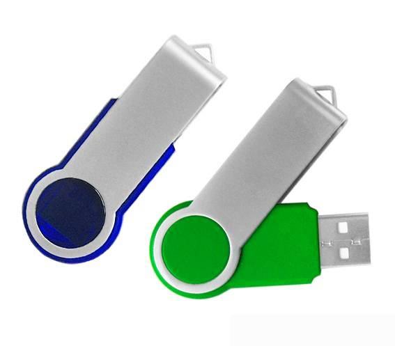 Promotional Gift Twister USB Drive with Optional Capacity